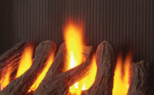 logs fuel bed